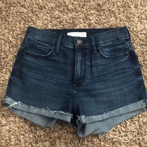 Blue denim Abercrombie and Fitch shorts size 4